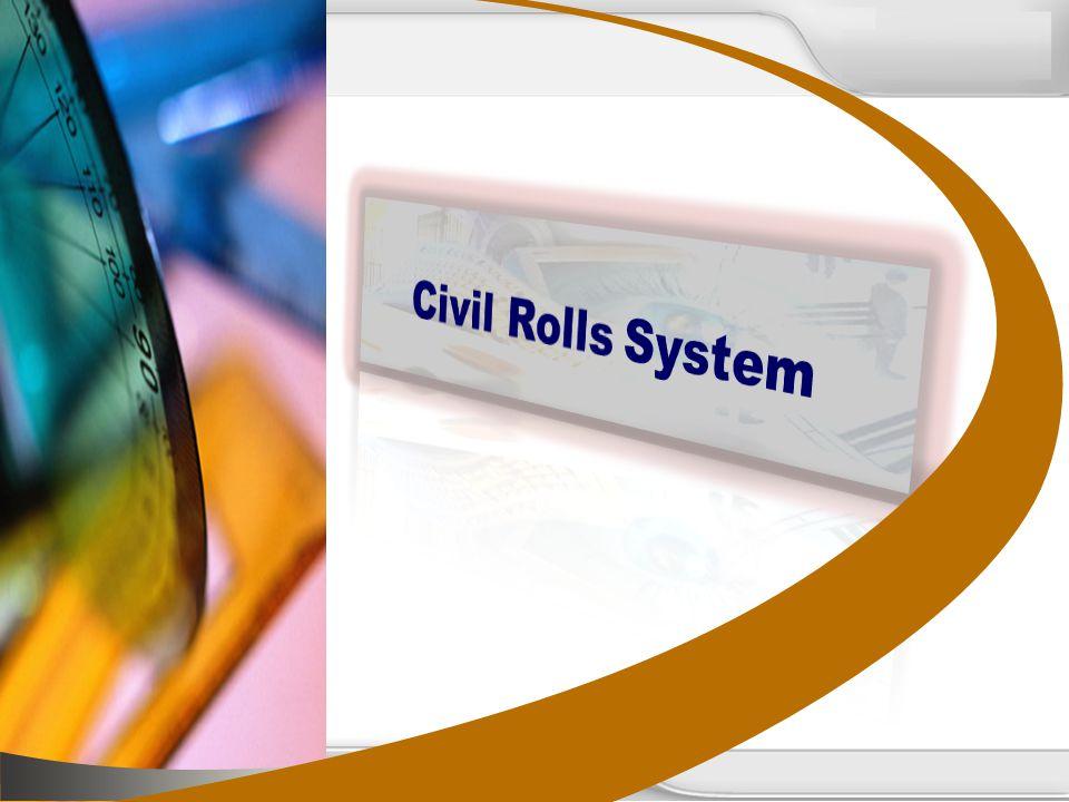 Civil Rolls System