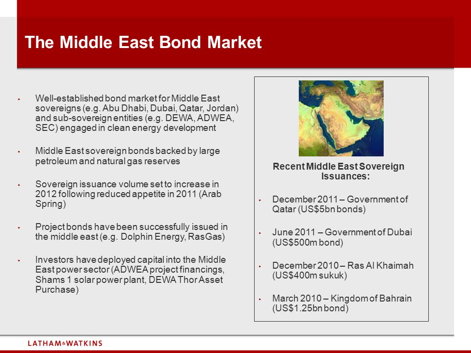 The Middle East Bond Market