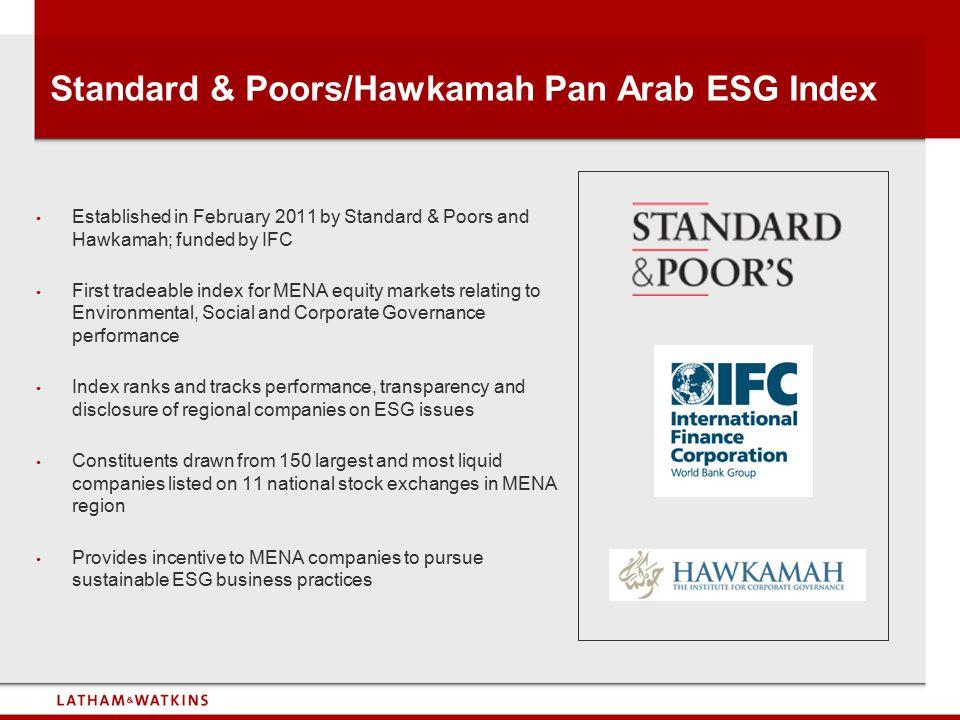 Standard & Poors/Hawkamah Pan Arab ESG Index