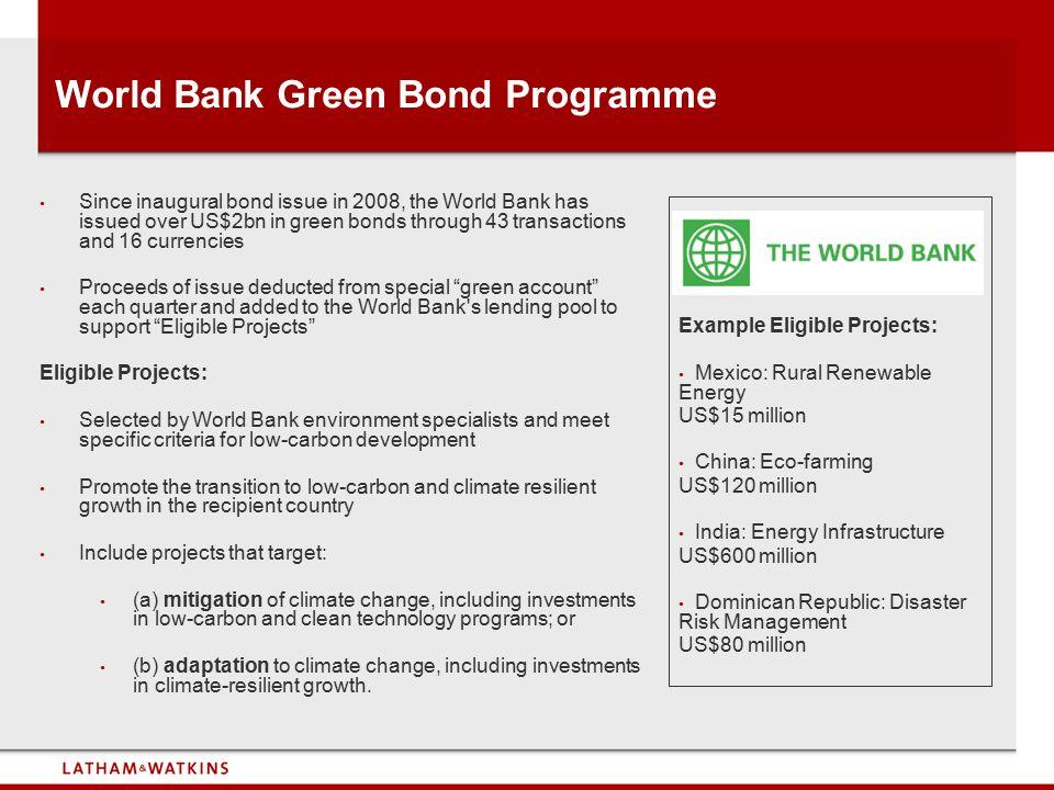 World Bank Green Bond Programme