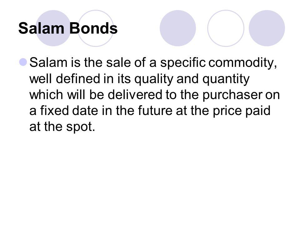 Salam Bonds