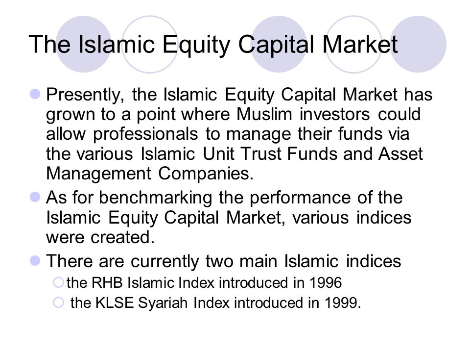 islamic equity unit trust funds' performance Past performance is not a guarantee future performance of a unit trust fund top 10 equity malaysia (islamic) funds islamic unit trusts: institute of islamic.
