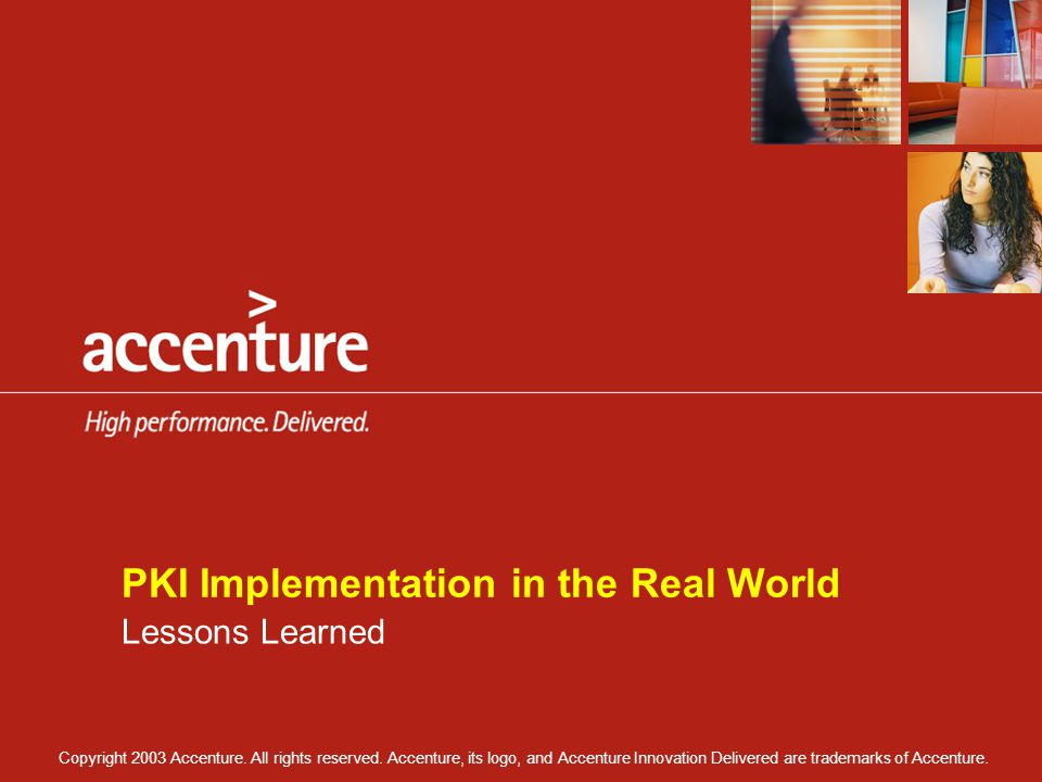 PKI Implementation in the Real World