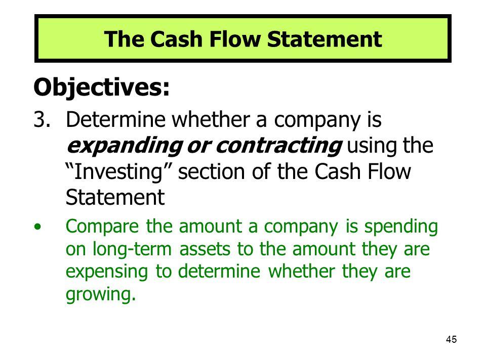 The Cash Flow Statement