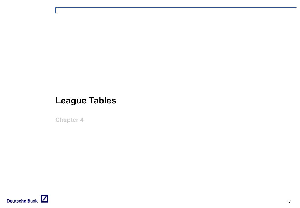 League Tables Chapter 4