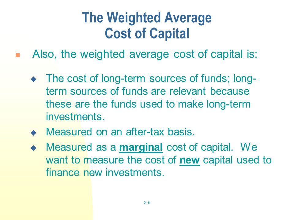 Sources of Short-Term and Long-Term Financing for Working Capital