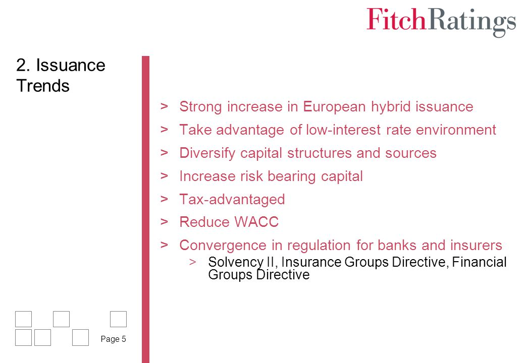 2. Issuance Trends Strong increase in European hybrid issuance