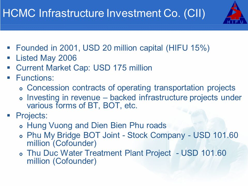 HCMC Infrastructure Investment Co. (CII)