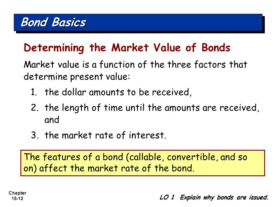 how to find the value of a bond
