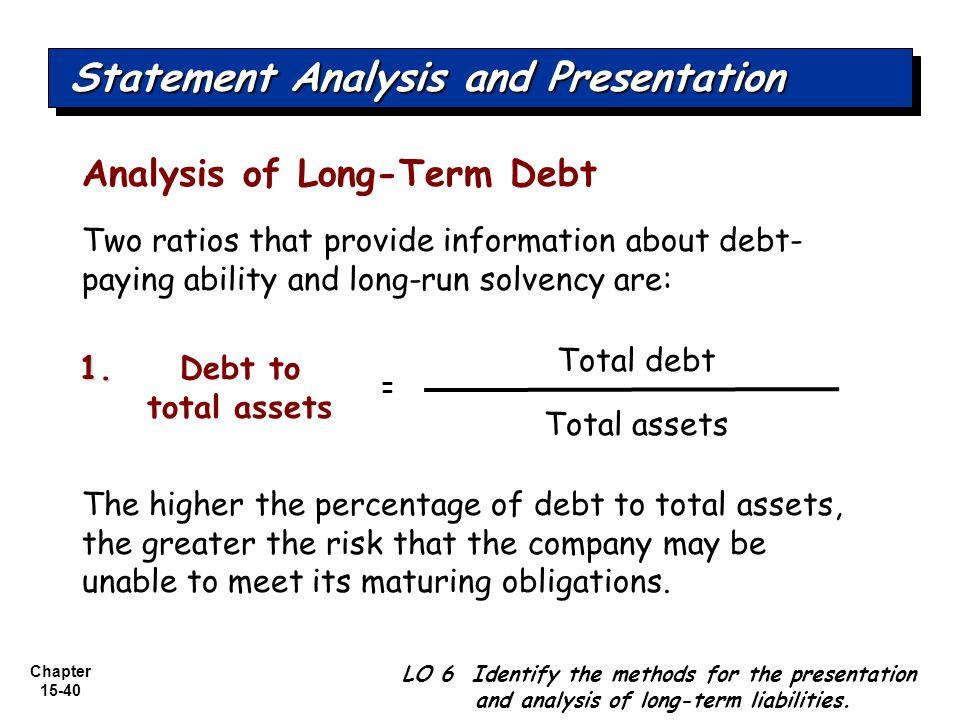 Statement Analysis and Presentation