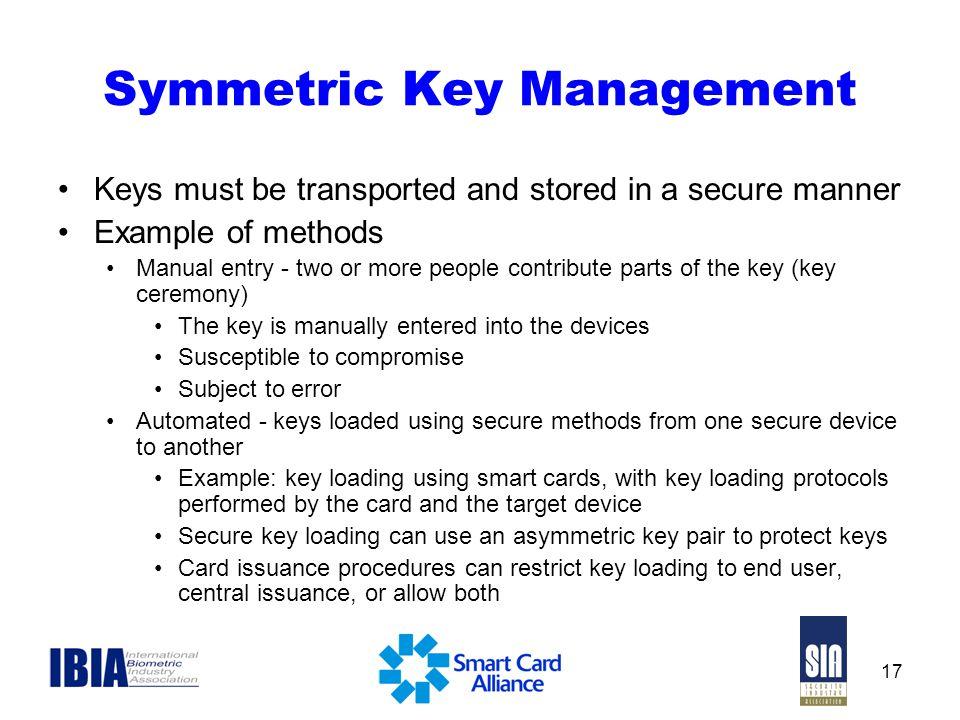 Symmetric Key Management