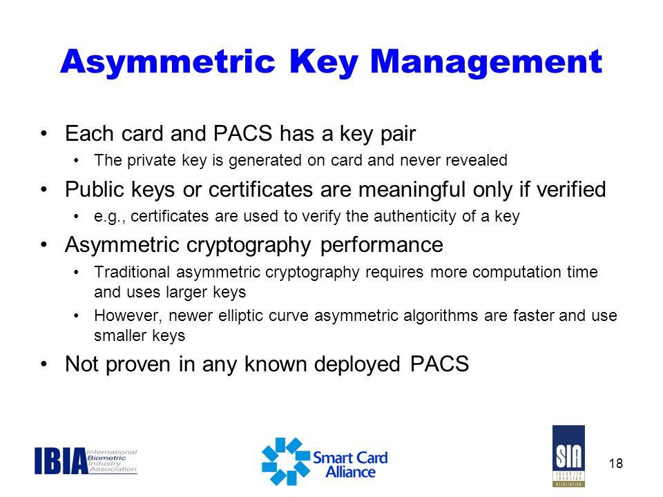 Asymmetric Key Management