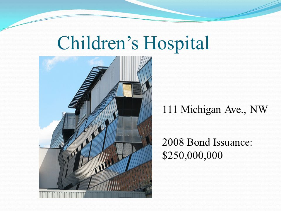 Children's Hospital 111 Michigan Ave., NW
