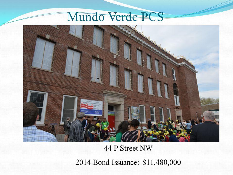 Mundo Verde PCS 44 P Street NW 2014 Bond Issuance: $11,480,000
