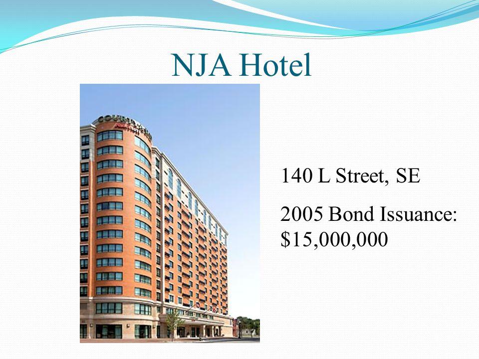 NJA Hotel 140 L Street, SE 2005 Bond Issuance: $15,000,000