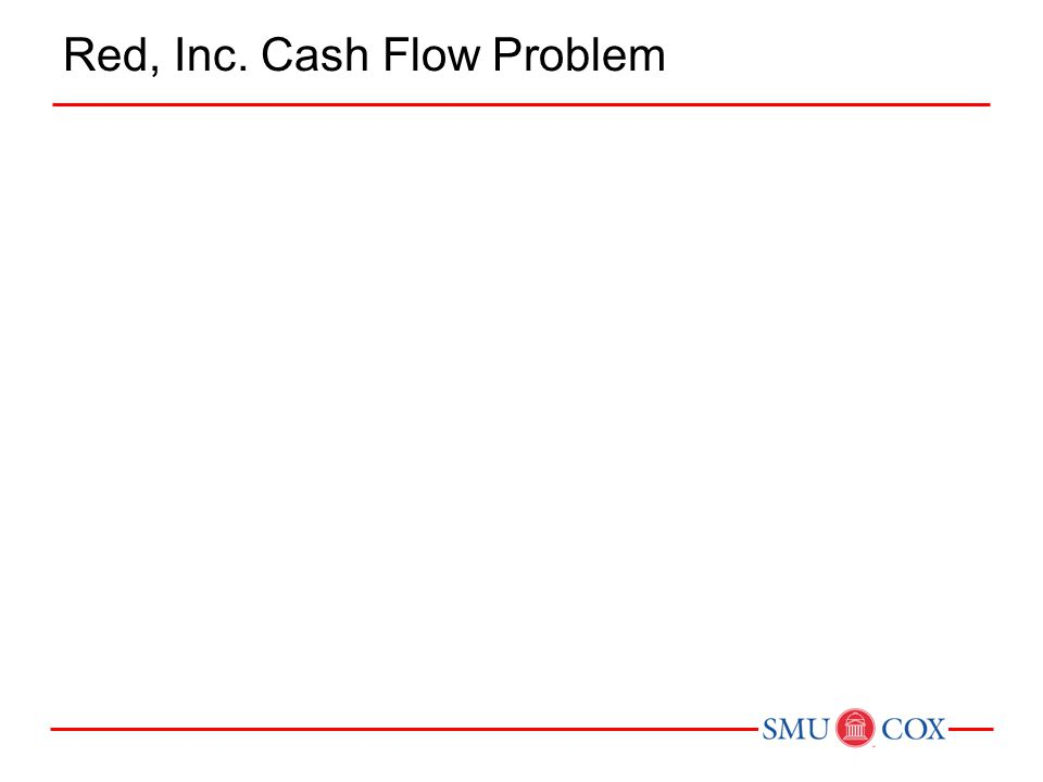 Red, Inc. Cash Flow Problem