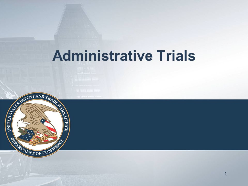 Administrative Trials