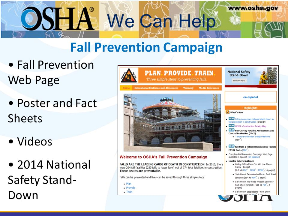 Fall Prevention Campaign