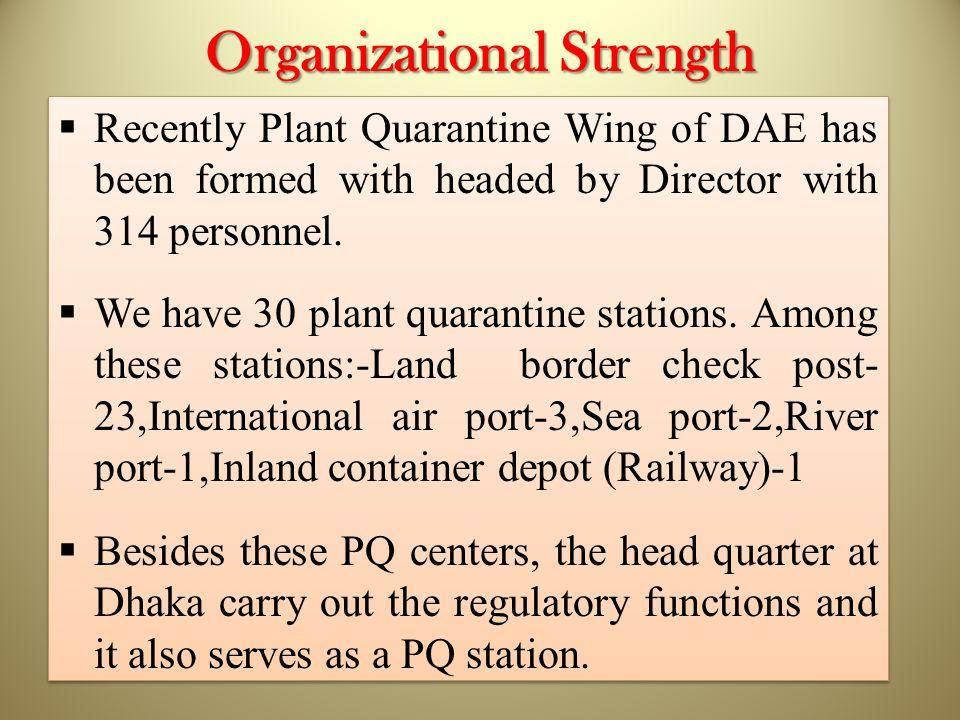 Organizational Strength