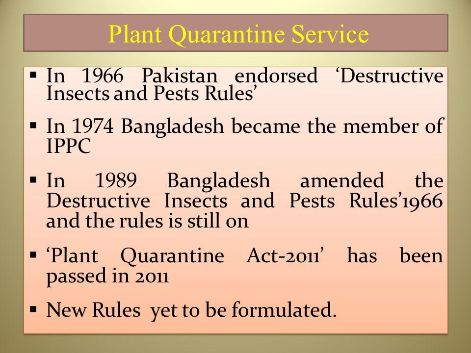 Plant Quarantine Service