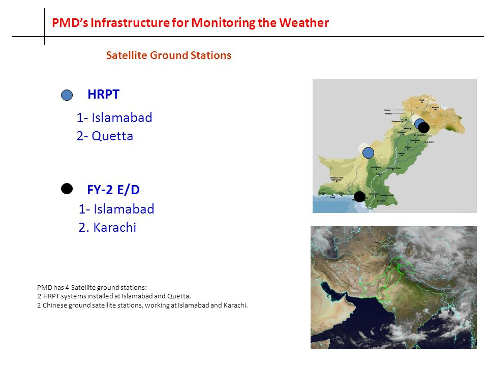 PMD's Infrastructure for Monitoring the Weather