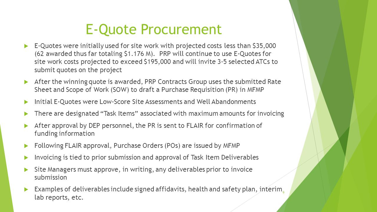 E-Quote Procurement