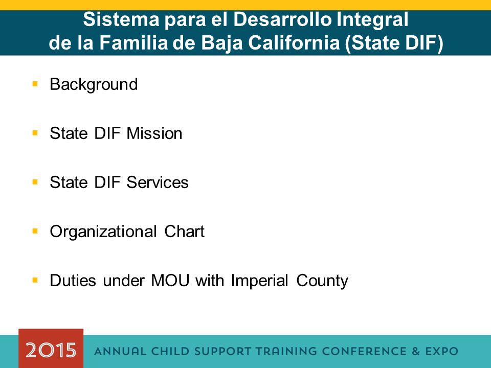 Sistema para el Desarrollo Integral de la Familia de Baja California (State DIF)
