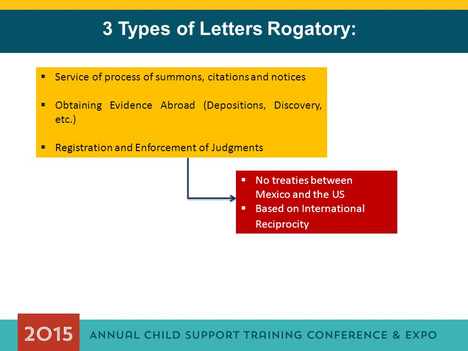 3 Types of Letters Rogatory:
