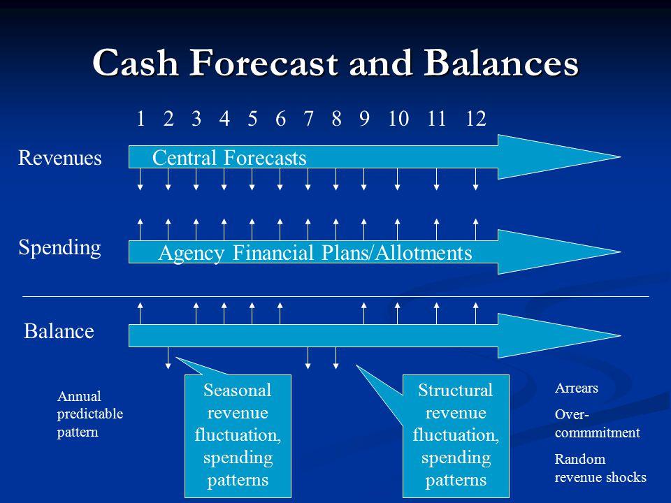 Cash Forecast and Balances