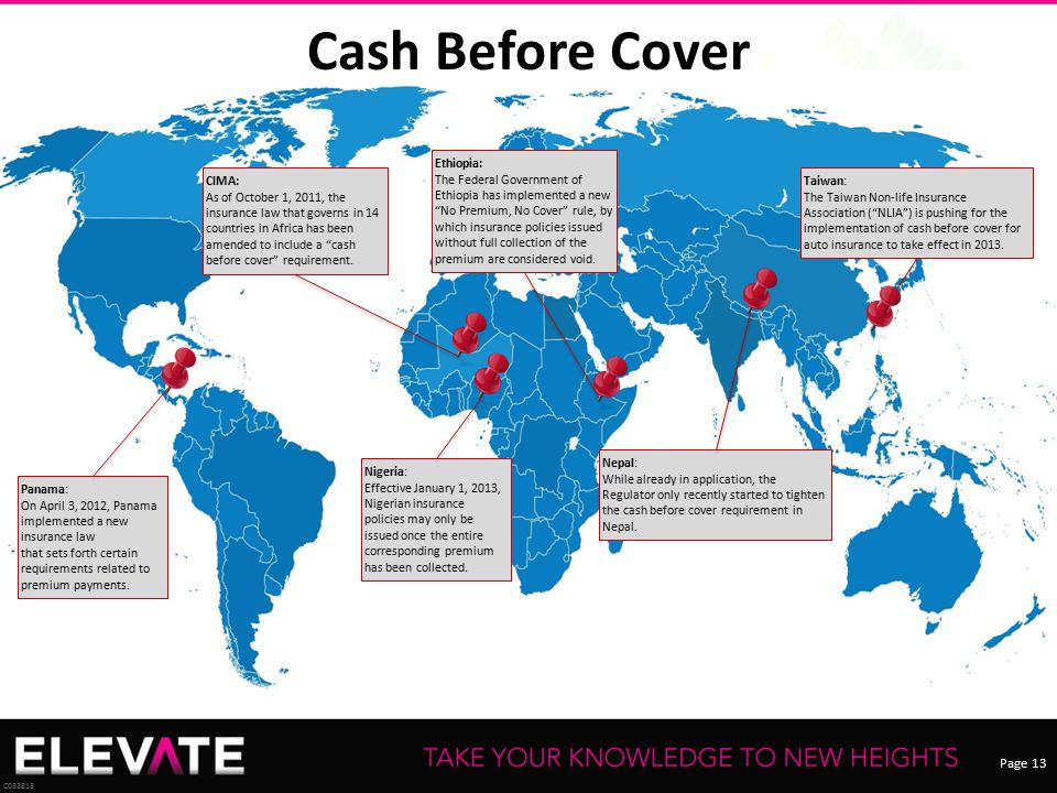 Cash Before Cover Ethiopia: