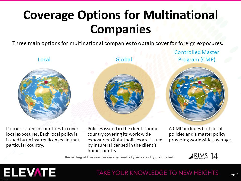 Coverage Options for Multinational Companies