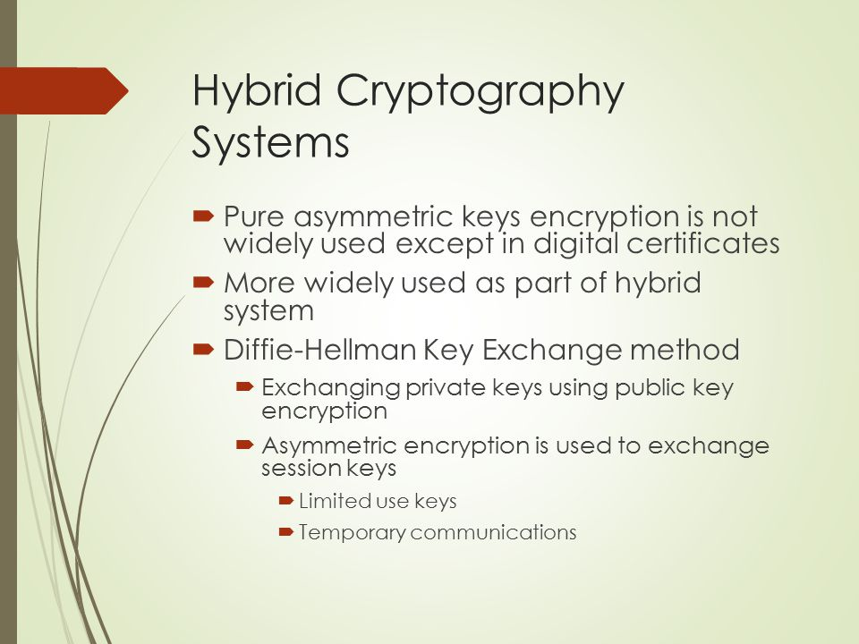 Hybrid Cryptography Systems