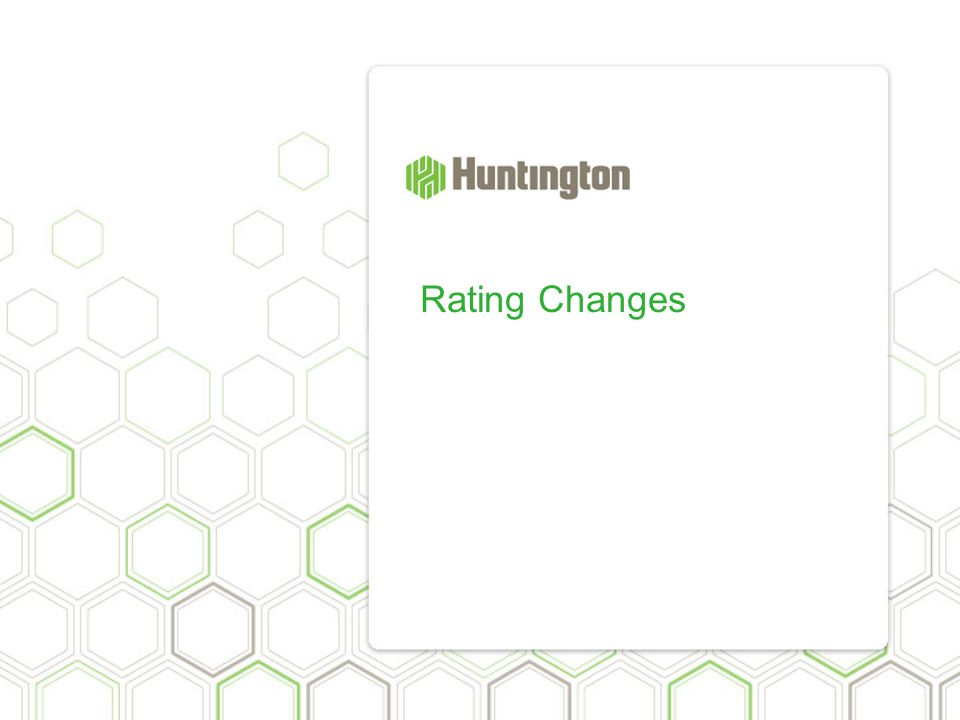 Rating Changes