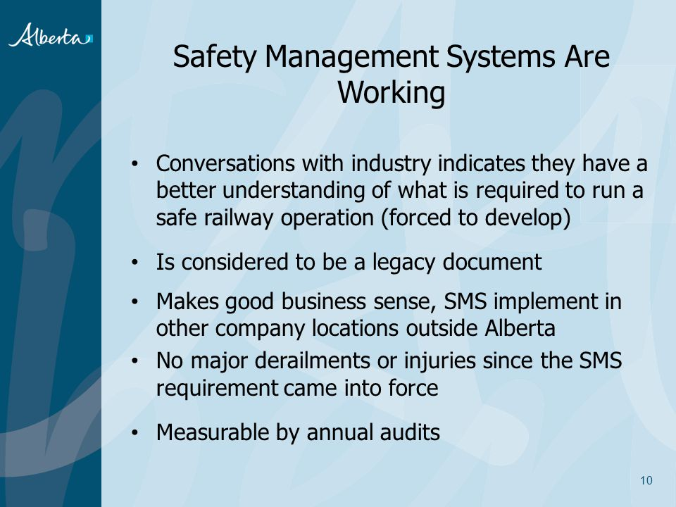 Safety Management Systems Are Working