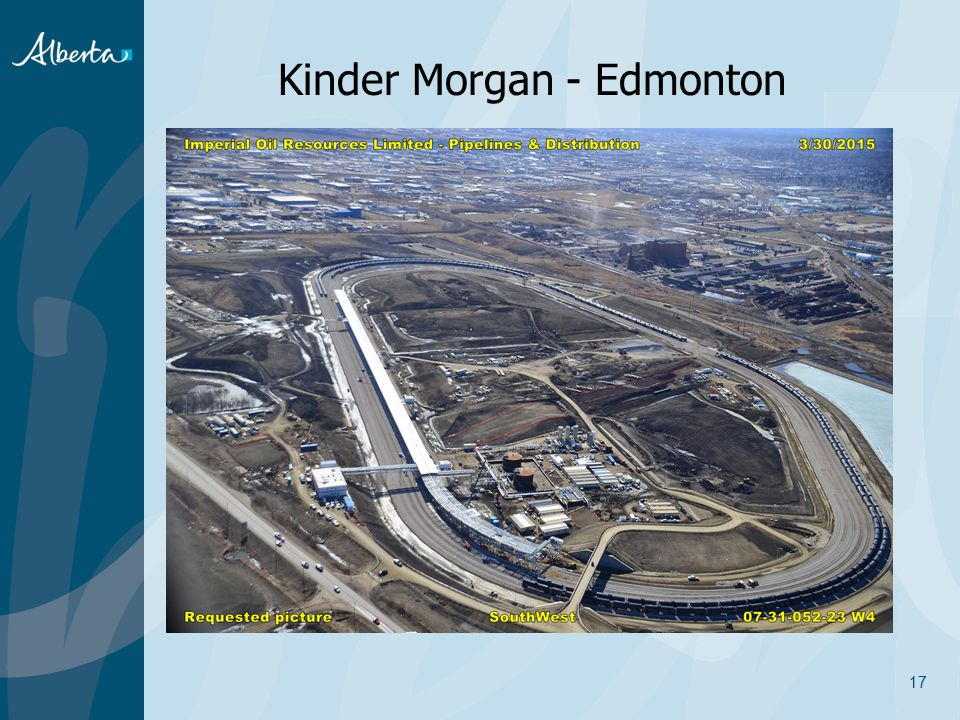 Kinder Morgan - Edmonton