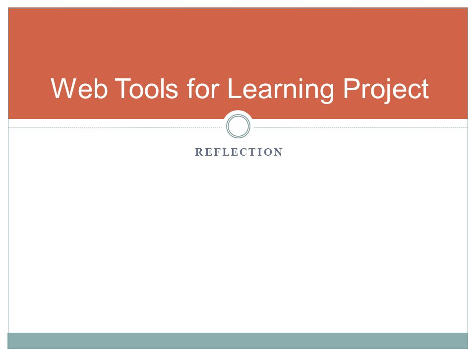 Web Tools for Learning Project