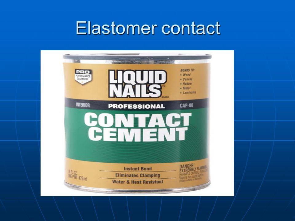 Elastomer contact