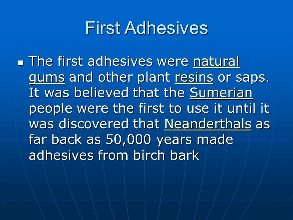 First Adhesives