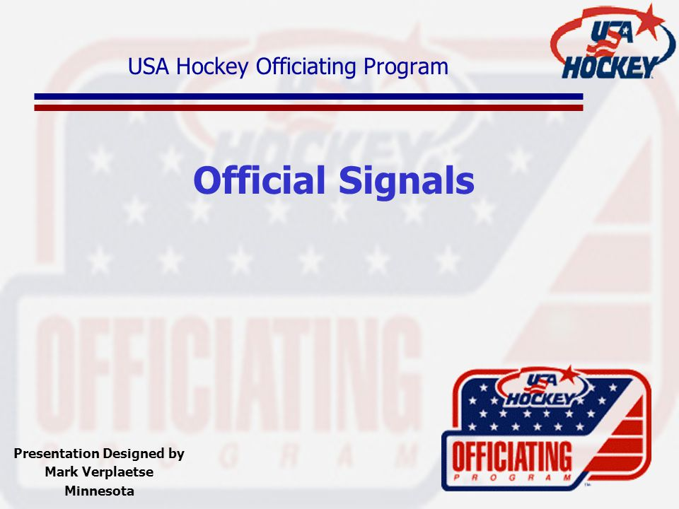 USA Hockey Officiating Program