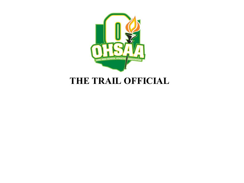 THE TRAIL OFFICIAL