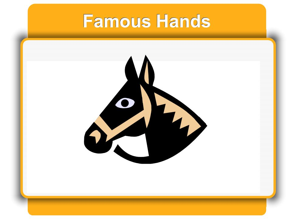 Famous Hands