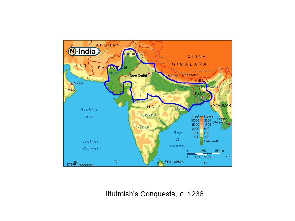 Iltutmish's Conquests, c. 1236