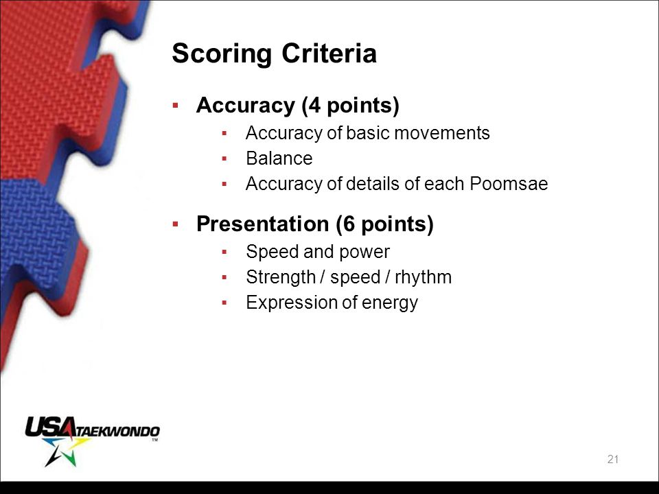 Scoring Criteria Accuracy (4 points) Presentation (6 points)