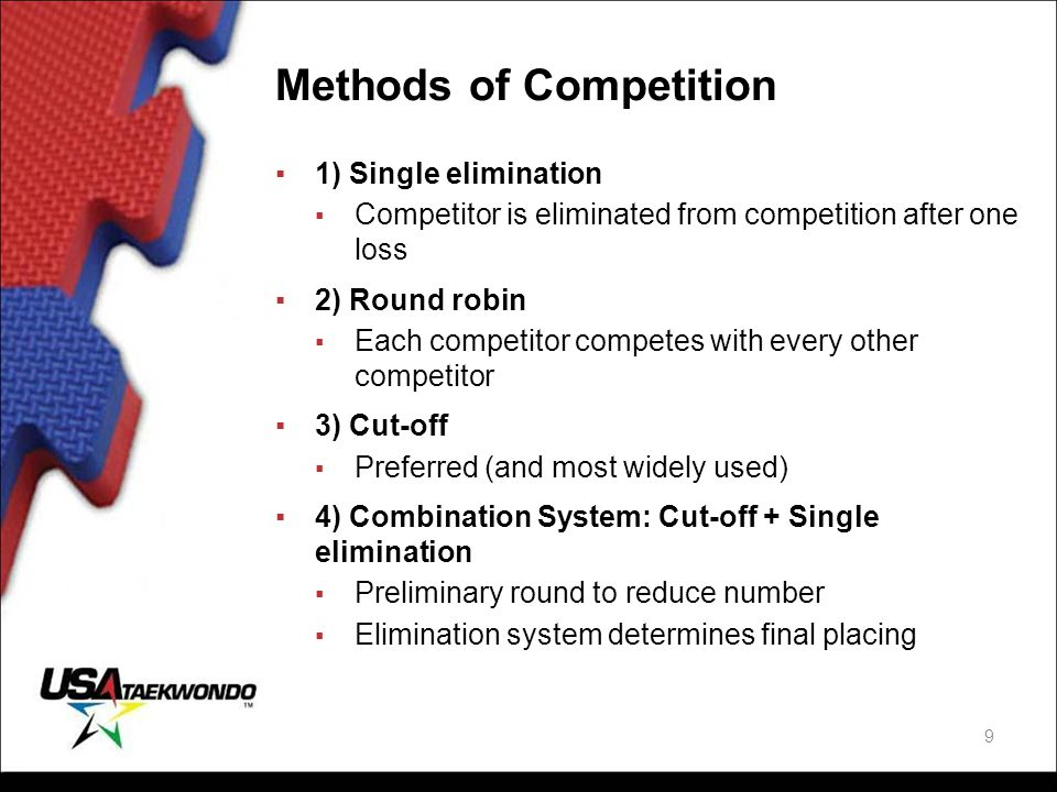 Methods of Competition