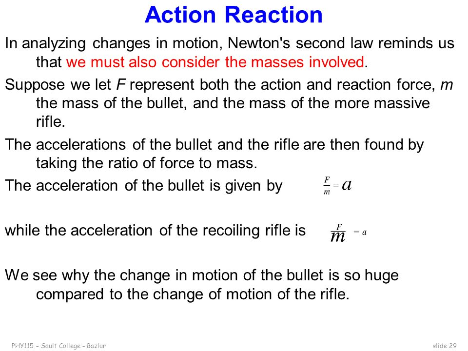 Action Reaction