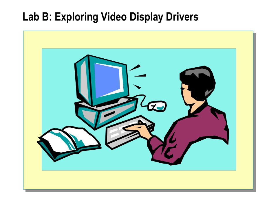 Lab B: Exploring Video Display Drivers