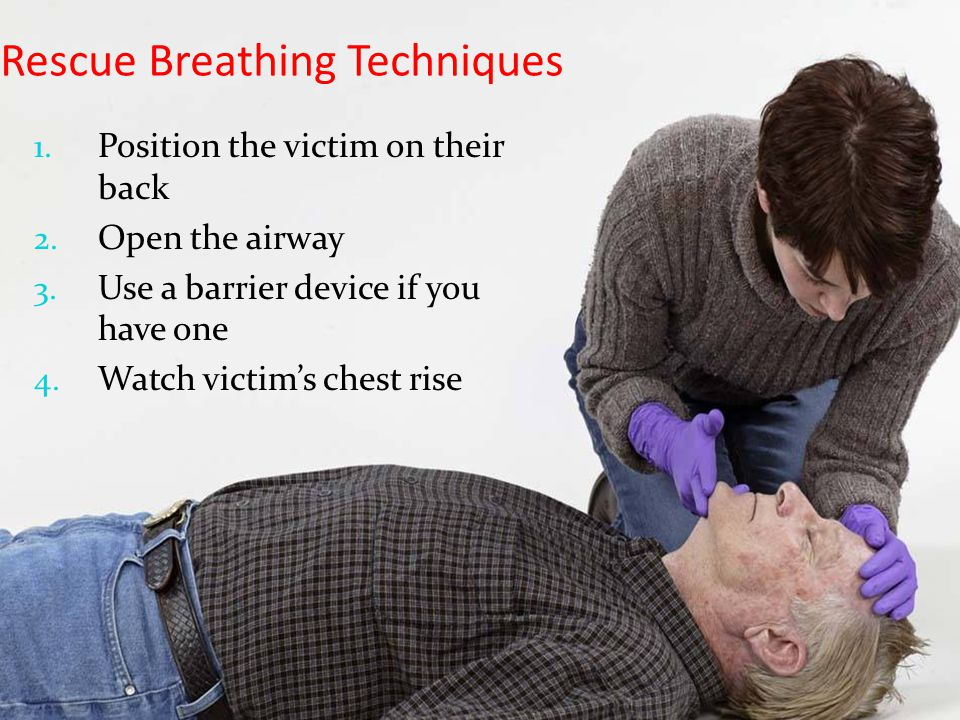 Rescue Breathing Techniques