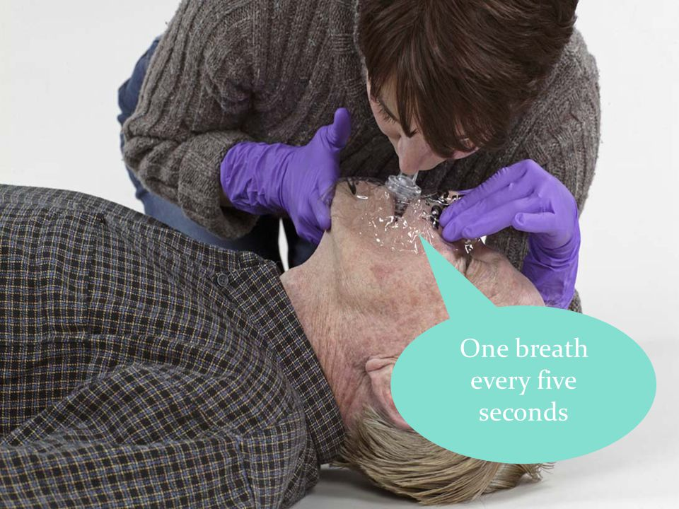 One breath every five seconds