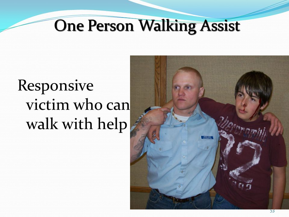 One Person Walking Assist