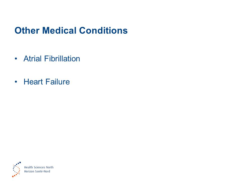 Other Medical Conditions